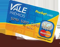 Cartão PocketCard® Vale Prêmios